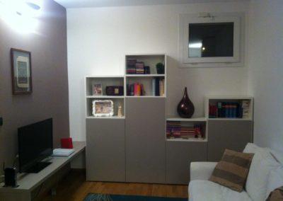 Un ambiente casalingo open space